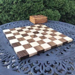 AP Woodcraft - Oak Brook Artisan Market (Chess Board)