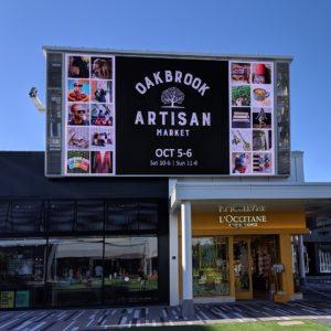 Oak Brook Artisan Market - Big Screen