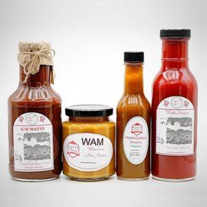 GW Watts - Hot Sauce at Oak Brook Artisan Market