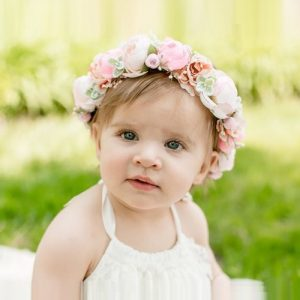 Little Lady Impressions - Oak Brook Artisan Market (flower crown girl)