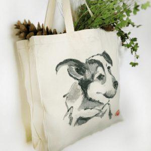 Pop of Paper - Oak Brook Artisan Market (dog tote)