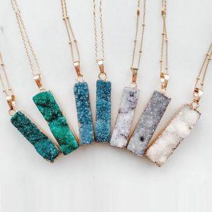 Raw Amor Jewelry - Oak Brook Artisan Market (druzy necklace)