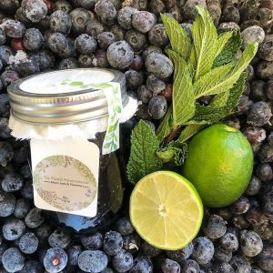 The Playful Preservationist - blueberry lime preserves
