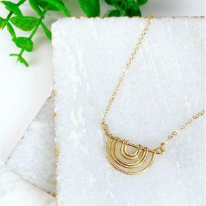 Kono & Co - Oak Brook Artisan Market (gold necklace)