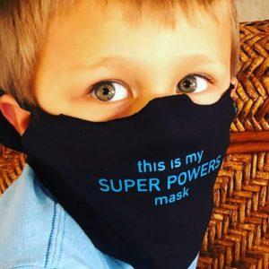 Sarca-tee - Oak Brook Artisan Market (Super Powers mask)