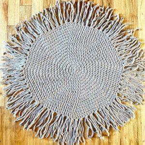 True Lovelies - Circle Rug (Oak Brook Artisan Market)