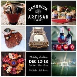 Oak Brook Artisan Market - Holiday Edition (Sat-Sun, Dec 12-13, 2020)