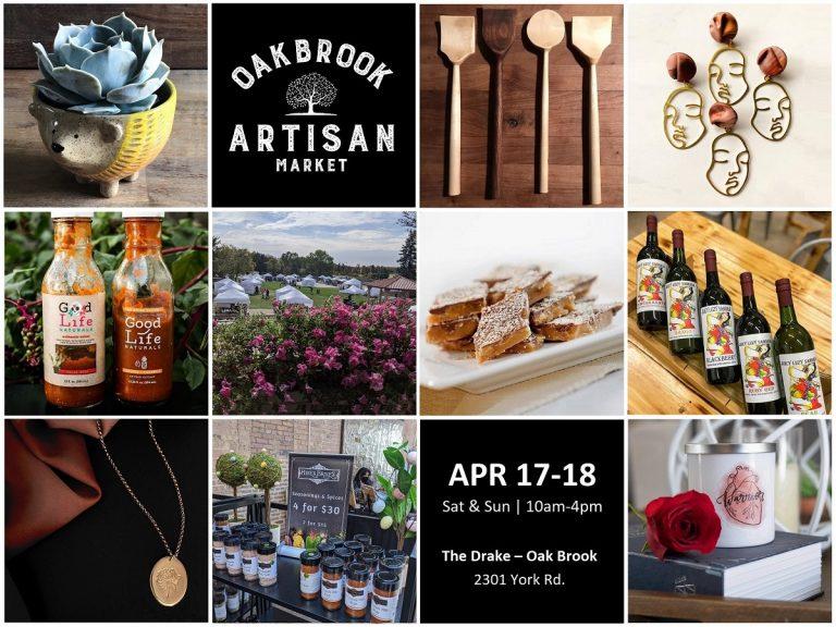 Oak Brook Artisan Market - Sat & Sun, Apr 17-18, 2021